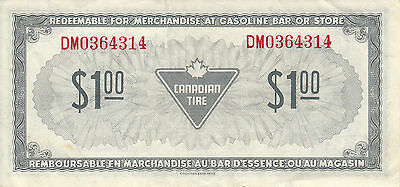 Canada Canadian Tire Store 1973 1.00$ DM036 RED