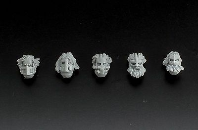 Galactic Knight 5 Heads in mask  Viking Style by KFStudio