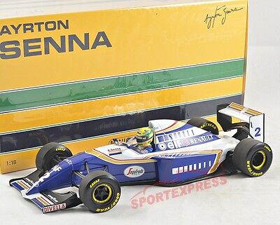 NEW 1/18 Minichamps 540941802 Williams Renault FW16, Ayrton Senna 1994