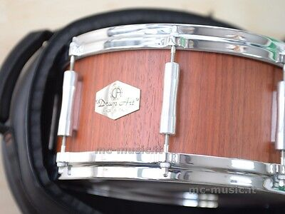 Drum Art Padouk Rullante 13X6,5 Borsa Snare Made In Italy Top Quality Ww Ship