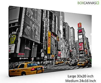 Modern Photo Canvas Wall Art 2 New York