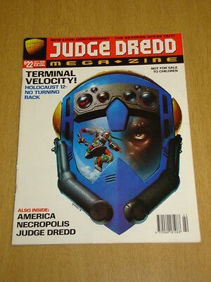 2000Ad Megazine #22 Vol 3 Judge Dredd*
