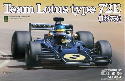 Ebbro 20009 1/20 Team Lotus Type 72E 1973 2nd Production Limited from Japan Rare