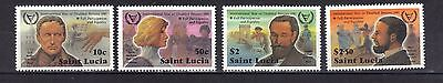 St Lucia.  Year Of The Disabled  Sg592-595 1981 Mnh