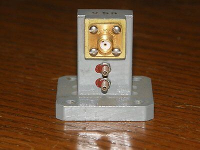 WR75 waveguide to SMA adapter WR 75 10.7gig to 11.7 gig Farinon model SD 84076