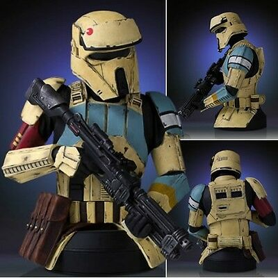 Gentle Giant Star Wars Mini Busts 1/6 Scale Rogue One Shore Trooper Yellow New