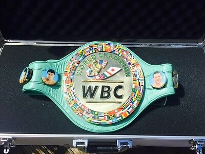 New WBC Championship Boxing Belt- most accurate replica -Ferrari Leather