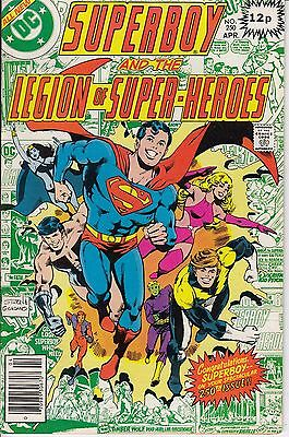 DC Superboy And The Legion Of Super Heroes #250 + #258 1979 co.526