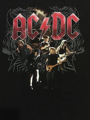 AC/DC Black Ice Tour Shirt