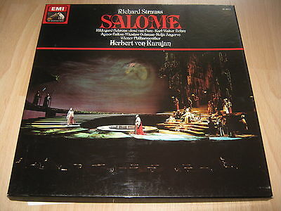 2 Vinyl LP: Richard Strauss, Salome, Karajan