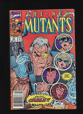 New Mutants #87 Mark Jewelers Variant! Marvel Comics 1990! Rare SEE PICS & SCANS