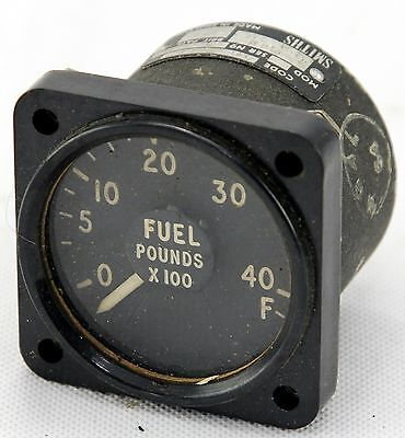Fuel quantity gauge for RAF Canberra aircraft (GC9)