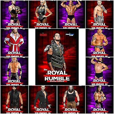 Topps WWE Slam Royal Rumble 2016 Cards X13 (digital) Offers Welcome