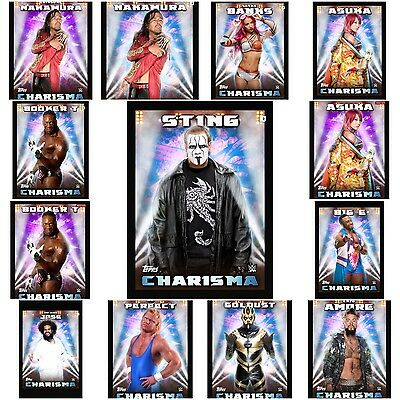 Topps WWE Slam Charisma Cards X 13 (digital) Offers Welcome