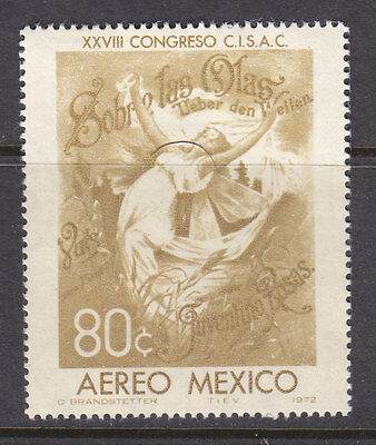 Mexico Air mail Sc#C-407.Over the waves by Juventino Rosas. Mint NH.vf