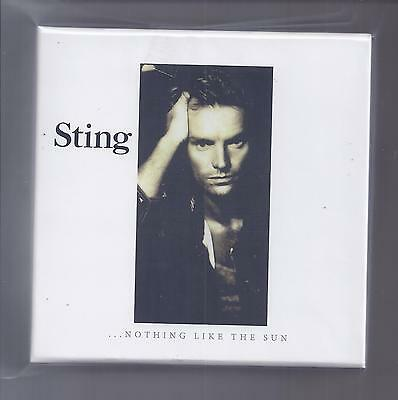 STING empty Disk Union Drawer PROMO box for JAPAN mini lp cd police / no cd