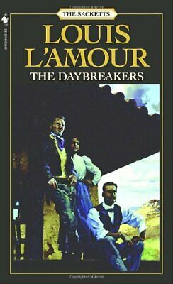 Daybreakers (Sacketts) by L'Amour, Louis Paperback Book The Cheap Fast Free Post