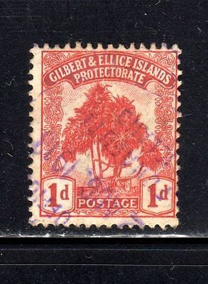 Item No. A2225 – Gilbert & Ellice Is. - Scott # 9 – Used