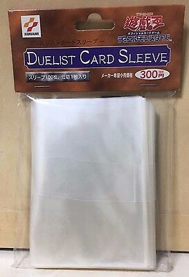 Yugioh Official Card Sleeve Protector: COLLECTION Vintage Released in 1999 Japan