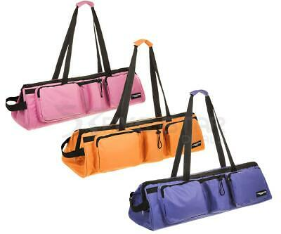 Structure Fitness Yoga Mat Carry Bag Straps Gym Pilates Storage Pockets Carrier