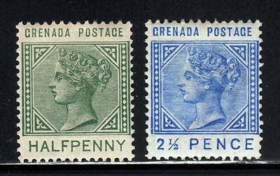 Item No. A2232 – Grenada - Scott # 20, 22 – MLH