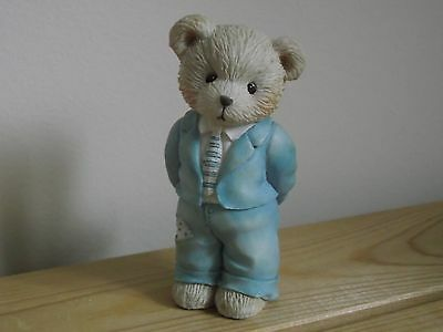 "Cherished Teddies ""A FATHER IS THE BEARER OF STRENGTH"" 62488"
