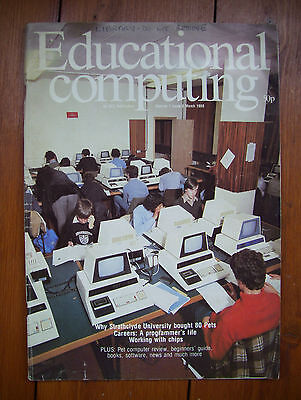 Educational Computing magazine, vol.1, issue 2 (March 1980) - very rare