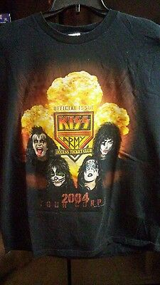 Kiss Army 2004 Tour Corps T Shirt Sz Xl