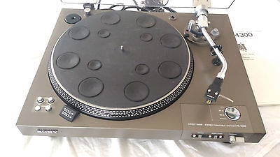 Magnifique Platine Vinyle Vintage Sony Ps-4300 ! Full Automatic + Adc Xlm Mkiii