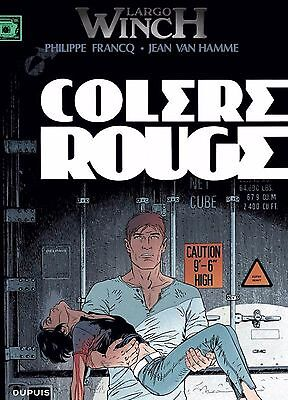 BD Largo Winch Tome 18 : Colère rouge NEUF