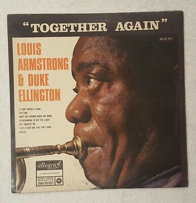 Together Again. Louis Armstrong and Duke Ellington. Vinyl LP.