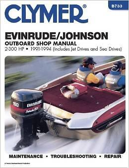EVINRUDE JOHNSON OUTBOARD MOTOR 65 70 80 85 88 90 100 HP Owners Service Manual
