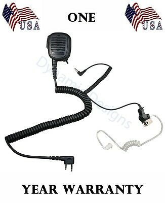 For Relm Rpu599 Rpv599X Btech Amcrest  Heavy Duty Shoulder Speaker Microphone
