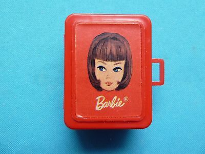 Vintage Tutti Let's Play Barbie Red Case #3608 (1967)