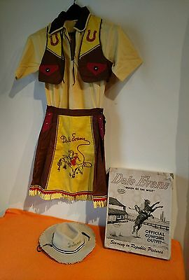 Yankiboy Dale Evans Cowgirl Outfit Clothes, Size 12