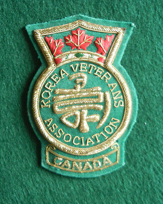 Korean Veterans Association Canada Blazer Badge