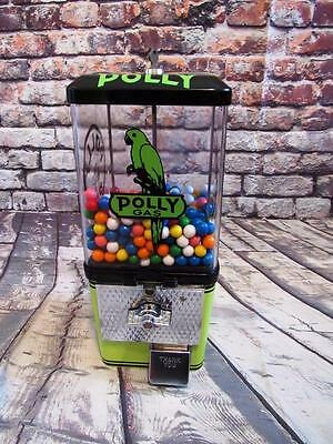 POLLY GAS vintage candy / nuts gumball machine man cave accessories bar