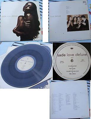 SADE-LOVE DELUXE VINYL LP 1st PRESS Greece 1992 EXCELLENT!