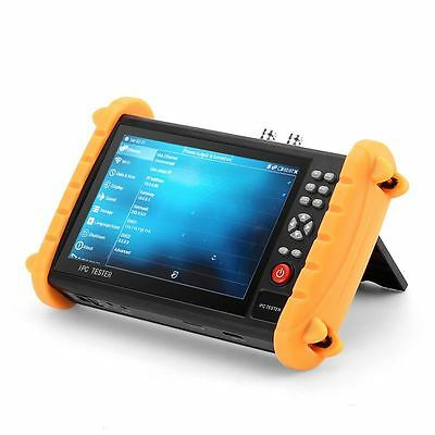 Surveillance Camera Tester - 7 Inch Display, ONVIF, Wi-Fi, Cable Tester, IP Scan