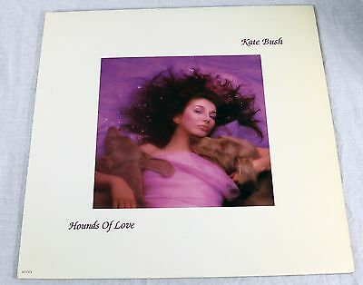 Kate Bush 1985 Hounds Of Love Vinyl LP Album Art Rock Music EMI ST17171 NM/NM