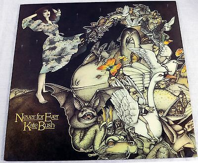 Kate Bush 1980 Never For Ever Vinyl LP Album Art Rock Music EMI ST17115 NM/NM