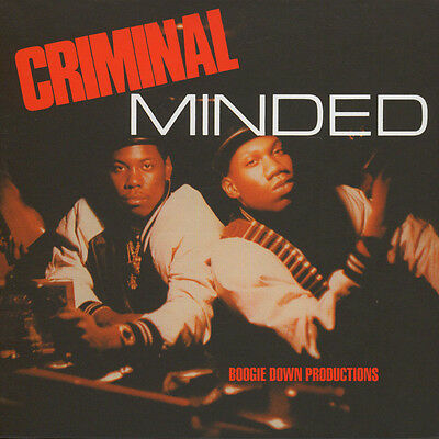 "Boogie Down Productions ‎– Criminal Minded 5 x 7"" Boxset New Sealed BDP 45"