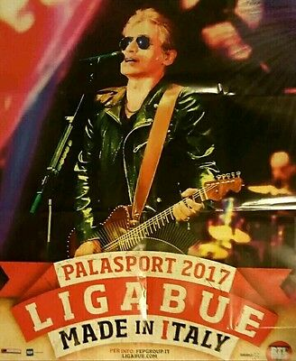 Poster Concerto Ligabue Made In Italy