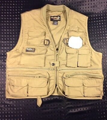 Guide Series Fishing Hunting Photography Outdoor Jacket Vest Women Size Large