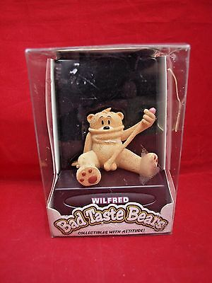 Bad Taste Bears WILFRED Stretching Himself Rare Limited Edition 2007