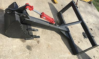 New MID-State Skid Steer Bobcat New Holland Back Hoe Backhoe Attachment