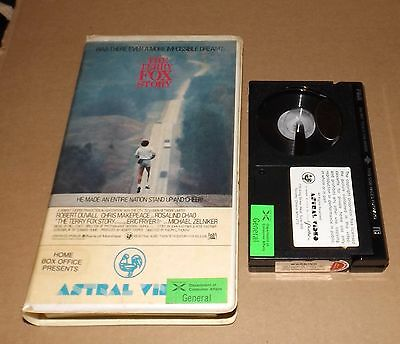 THE TERRY FOX STORY beta betamax not vhs ASTRAL VIDEO