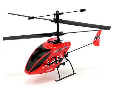 Brand New Blade Scout CX RTF 3-Channel Helicopter BLH2700 Horizon Red Hobby