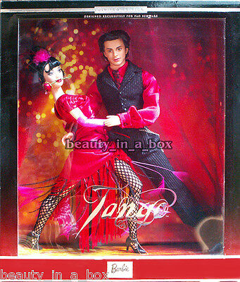 The Tango Dance Barbie & and Ken Doll Together Gift Set