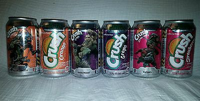 Crush Soda Teenage Mutant Ninja Turtles Out of the Shadows 6 Cans